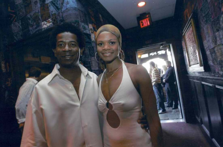 Aaron Akins Jazz Performer with Kimberly Elise